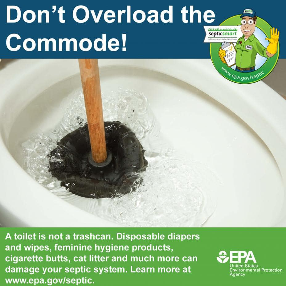 Don't Overload The Commode